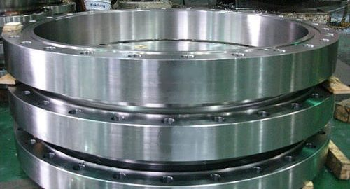 stack of aluminum rolled rings